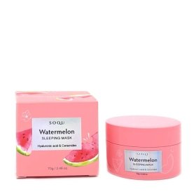 Ночная маска SOQU Watermelon Sleeping Mask