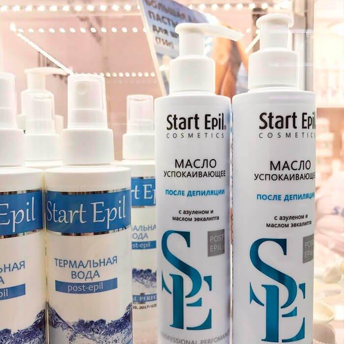 Масло после депиляции успокаивающее Start Epil