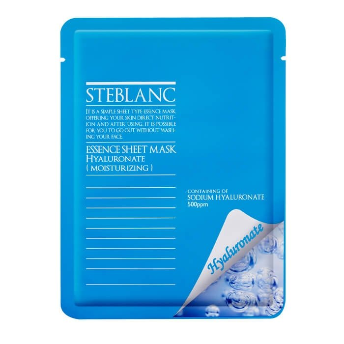 Маска для лица Steblanc Essence Sheet Mask - Hyaluronate
