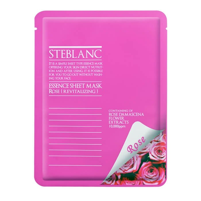 Маска для лица Steblanc Essence Sheet Mask - Rose