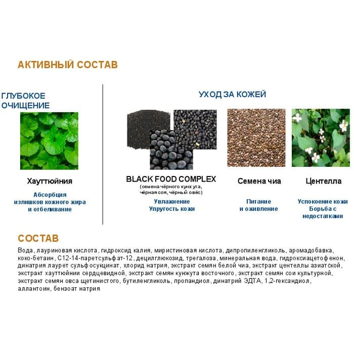 Очищающая пенка Steblanc Micro Foam Cleanser