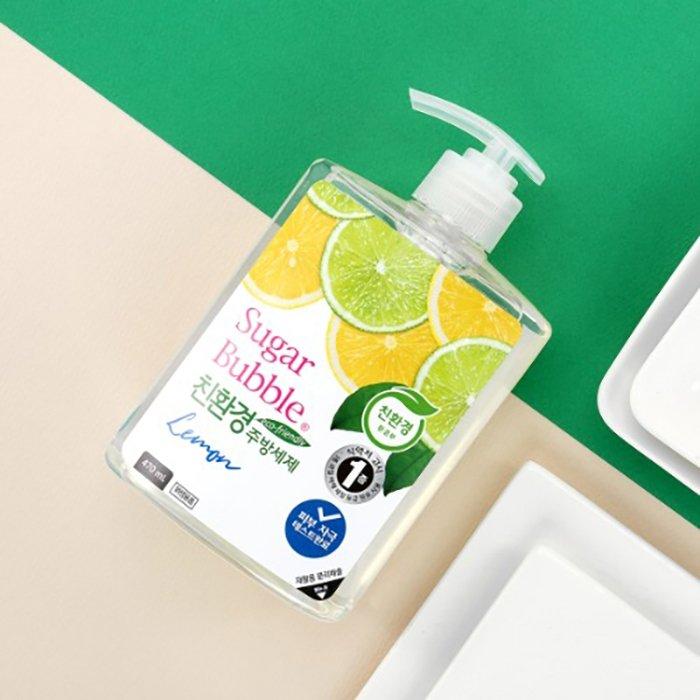 Средство для мытья посуды Sugar Bubble Lemon (940 мл)