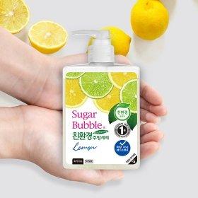 Средство для мытья посуды Sugar Bubble Lemon (рефилл 1200 мл)