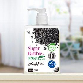 Средство для мытья посуды Sugar Bubble Black Rice (рефилл 1200 мл)
