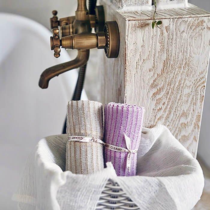 Мочалка для душа Sungbo Cleamy Bali Shower Towel