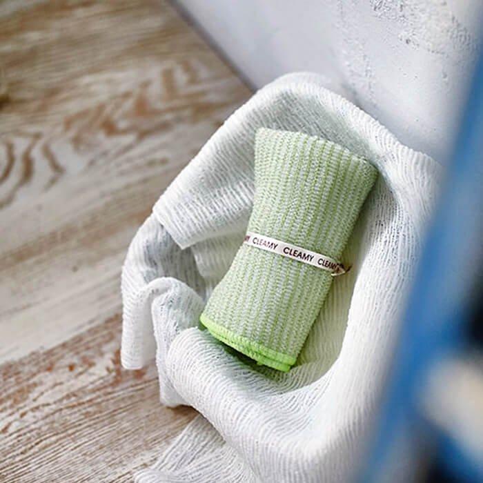 Мочалка для душа Sungbo Cleamy Bamboo Shower Towel