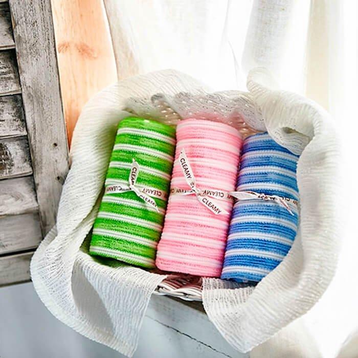 Мочалка для душа Sungbo Cleamy Daily Shower Towel