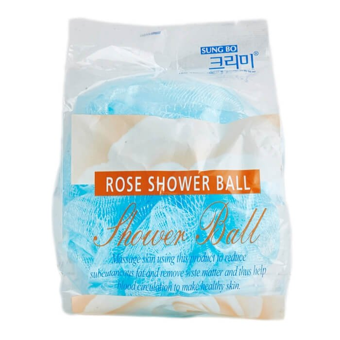 Мочалка для душа Sungbo Cleamy Rose Shower Ball