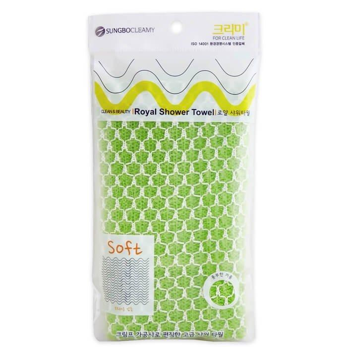 Мочалка для душа Sungbo Cleamy Royal Shower Towel