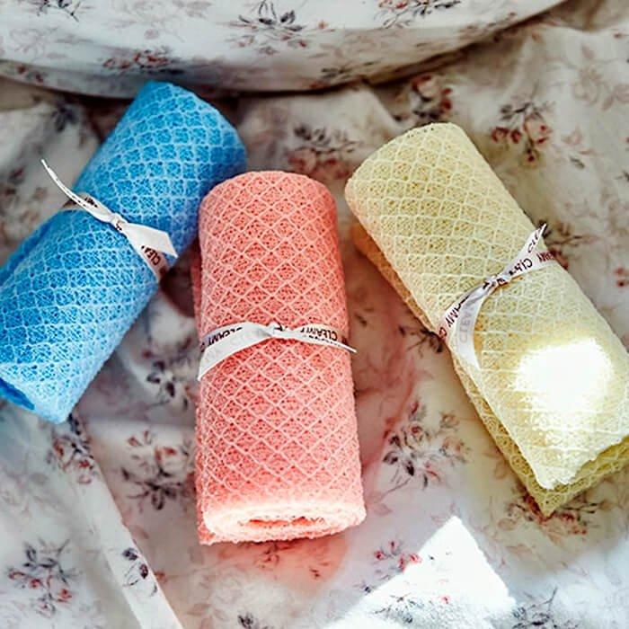 Мочалка для душа Sungbo Cleamy Sense Shower Towel