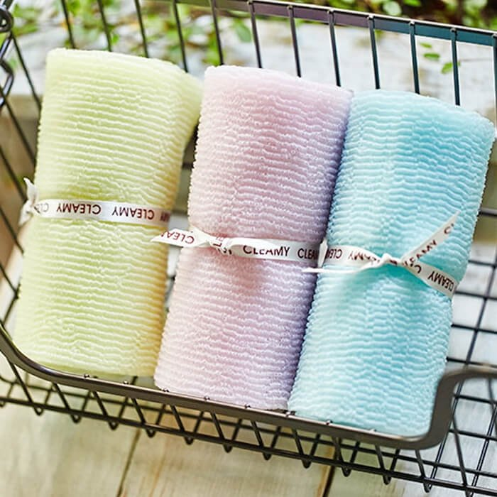 Мочалка для душа Sungbo Cleamy Wave Shower Towel