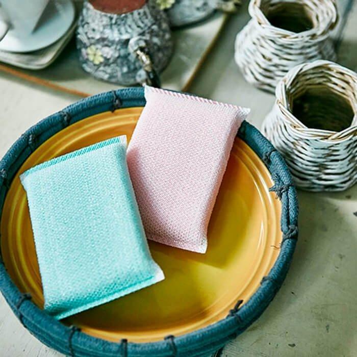 Скруббер для посуды Sungbo Cleamy Crystal Scrubber (2 шт.)