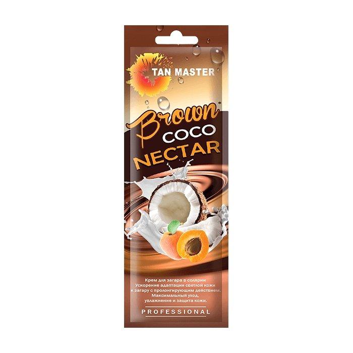 Крем для загара в солярии Tan Master Brown Coco Nectar (15 мл)