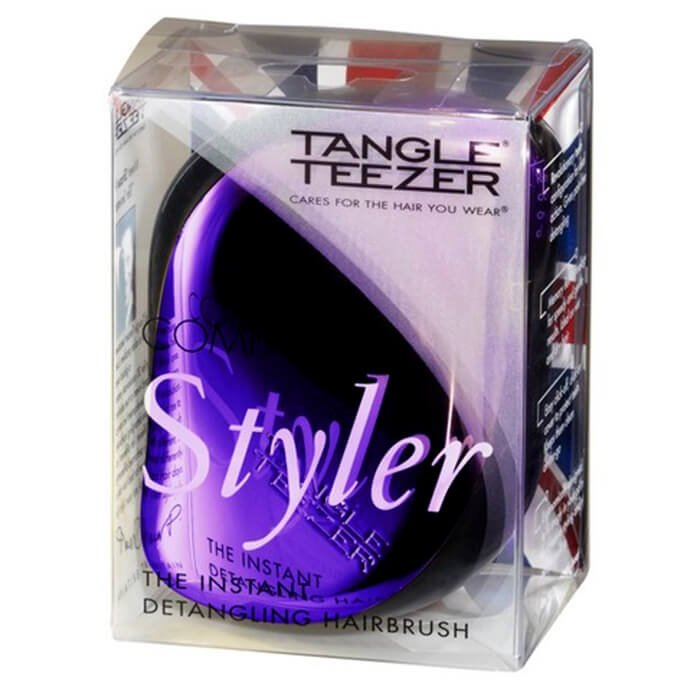 Расческа для волос Tangle Teezer Compact Styler - Purple Dazzle