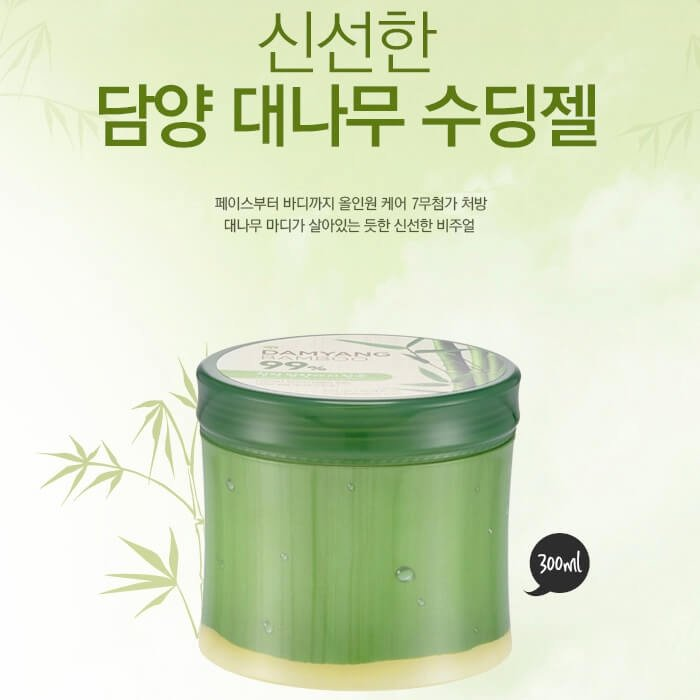 Гель с бамбуком The Face Shop Damyang Bamboo 99% Fresh Soothing Gel