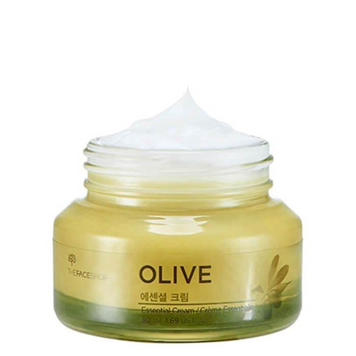 Крем для лица The Face Shop Olive Essential Cream