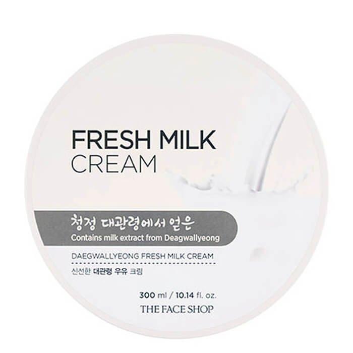 Крем с молоком The Face Shop Fresh Milk Cream