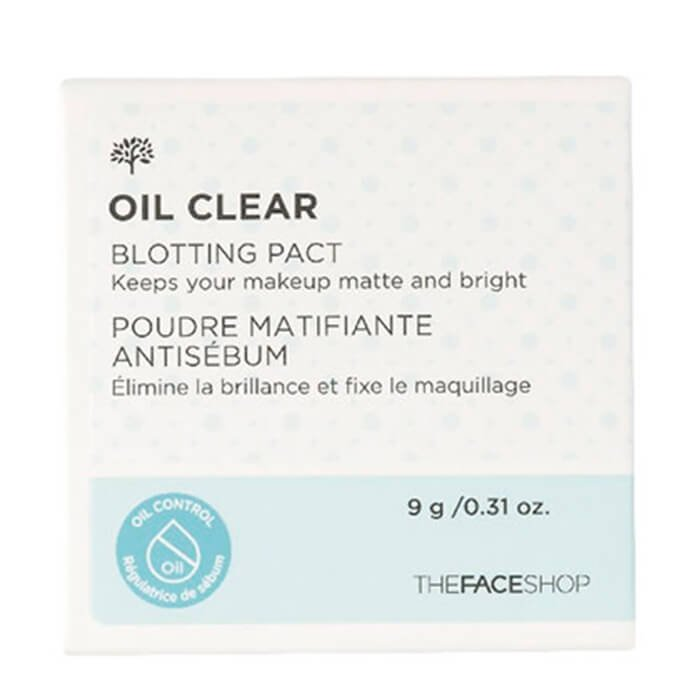Матирующая пудра The Face Shop Oil Clear Blotting Pact