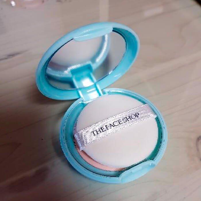 Матирующая пудра The Face Shop Oil Clear Sheer Pink Mattifying Powder