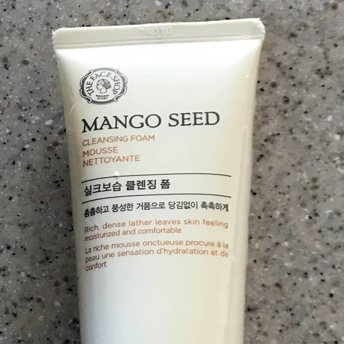 Очищающая пенка The Face Shop Mango Seed Cleansing Foam