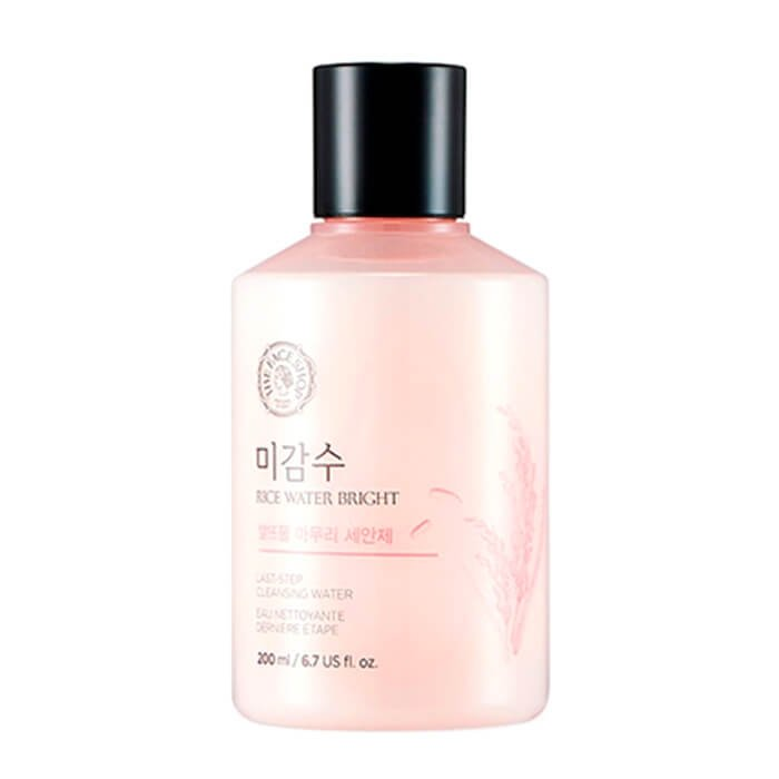 Очищающая вода The Face Shop Rice Water Bright Last-Step Cleansing Water