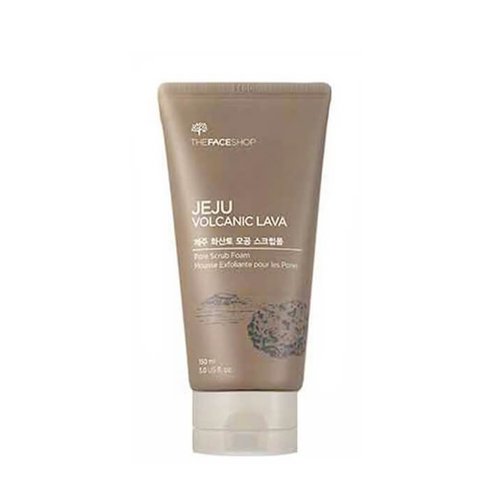 Пенка скраб The Face Shop Jeju Volcanic Lava Pore Scrub Foam