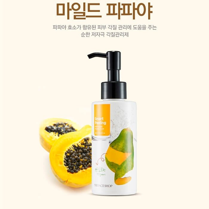 Пилинг-гель The Face Shop Smart Peeling Mild Papaya