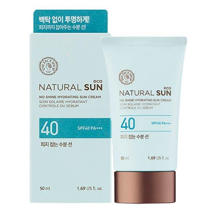 Солнцезащитный крем The Face Shop Natural Sun Eco No Shine Hydrating Sun Cream (50 мл)