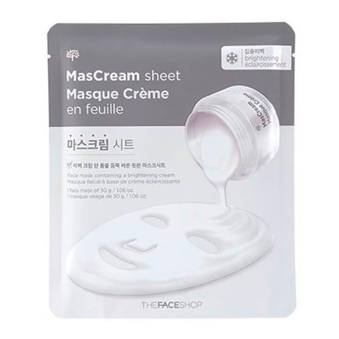 Тканевая маска The Face Shop Intense MasCream Sheet - Brightening