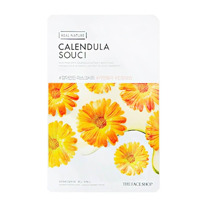 Тканевая маска The Face Shop Real Nature Calendula Face Mask
