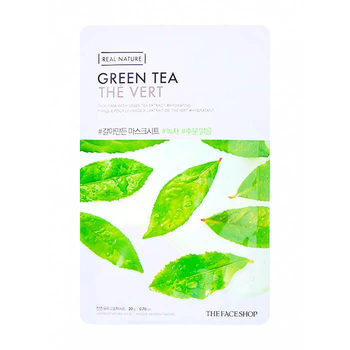 Тканевая маска The Face Shop Real Nature Green Tea Face Mask