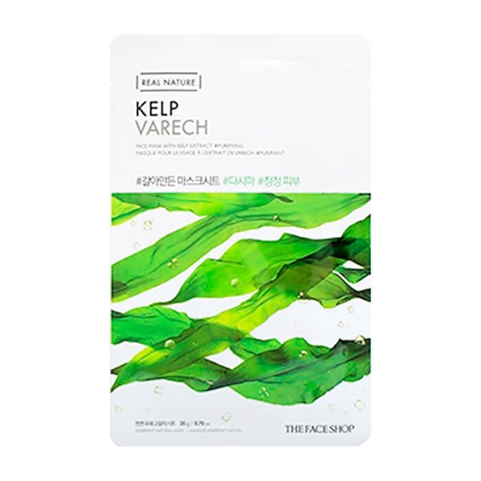 Тканевая маска The Face Shop Real Nature Kelp Face Mask