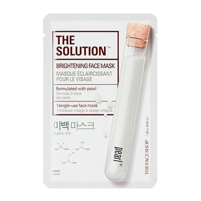 Тканевая маска The Face Shop The Solution Brightening Face Mask
