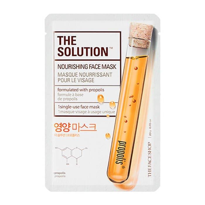 Тканевая маска The Face Shop The Solution Nourishing Face Mask