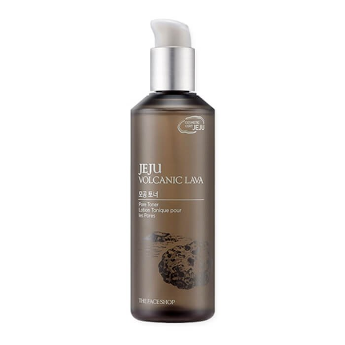 Тонер для лица The Face Shop Jeju Volcanic Lava Pore Toner