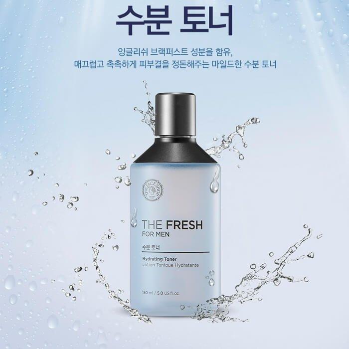 Тонер для лица The Face Shop The Fresh For Men Hydrating Toner