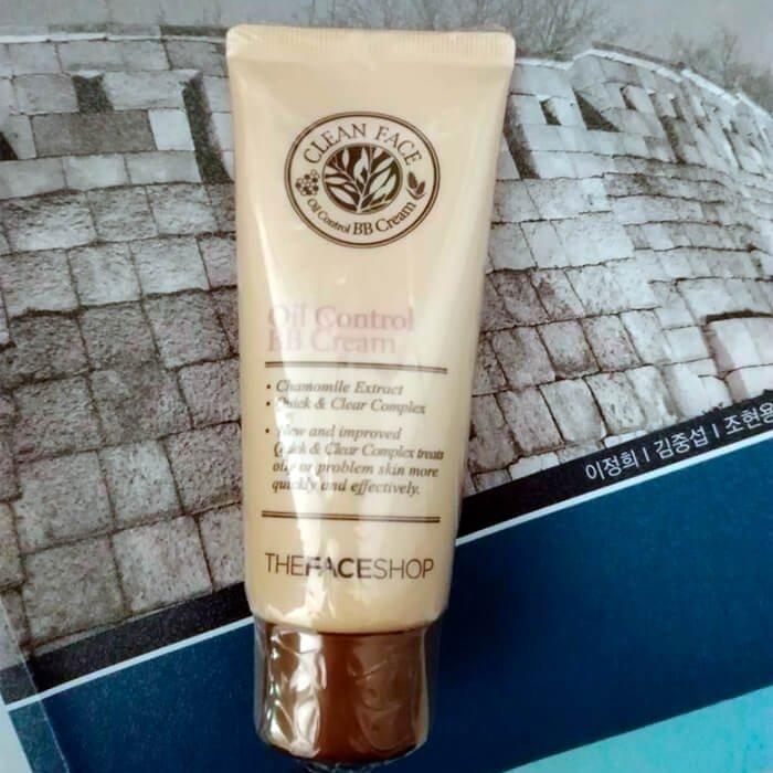ВВ крем The Face Shop Clean Face Oil Control BB Cream