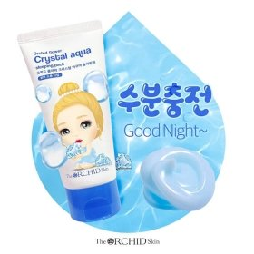 Ночная маска The Orchid Skin Orchid Flower Crystal Aqua Sleeping Pack