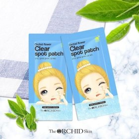 Патчи для проблемной кожи The Orchid Skin Orchid Flower Clear Spot Patch