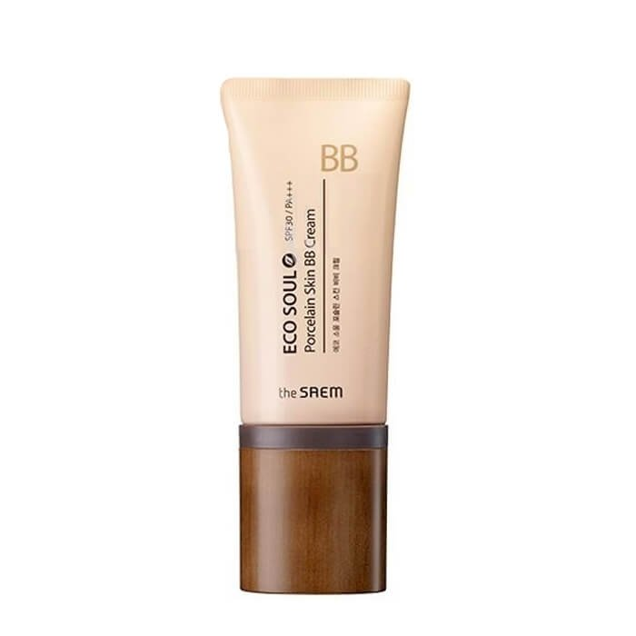 ББ крем The Saem Eco Soul Porcelain Skin BB Cream