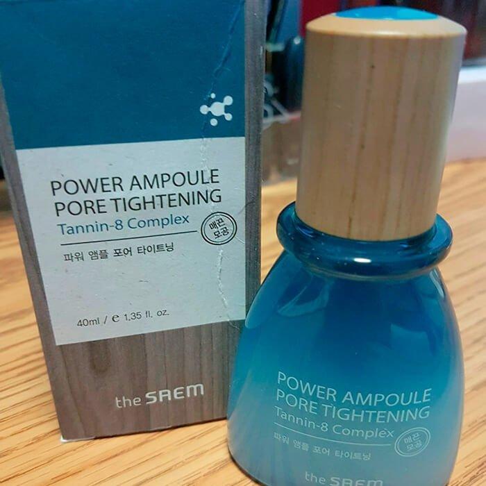 Эссенция для лица The Saem Power Ampoule Pore Tightening