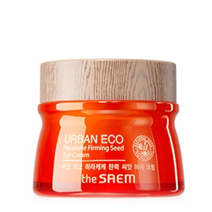 Крем для глаз The Saem Urban Eco Harakeke Firming Seed Eye Cream