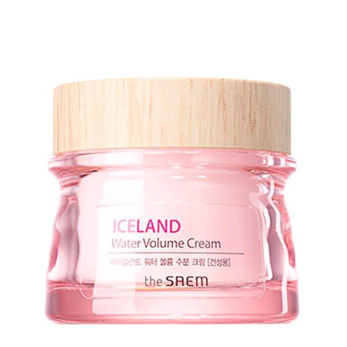 Крем для лица The Saem Iceland Water Volume Hydrating Cream - Dry Skin