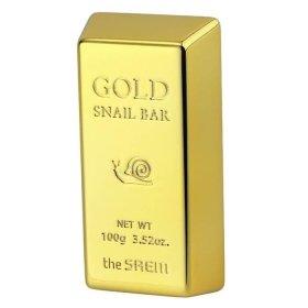 Мыло для лица The Saem Gold Snail Bar