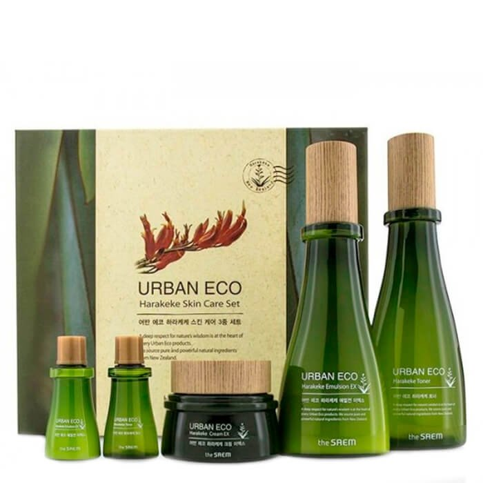 Набор для лица The Saem Urban Eco Harakeke Skin Care Set