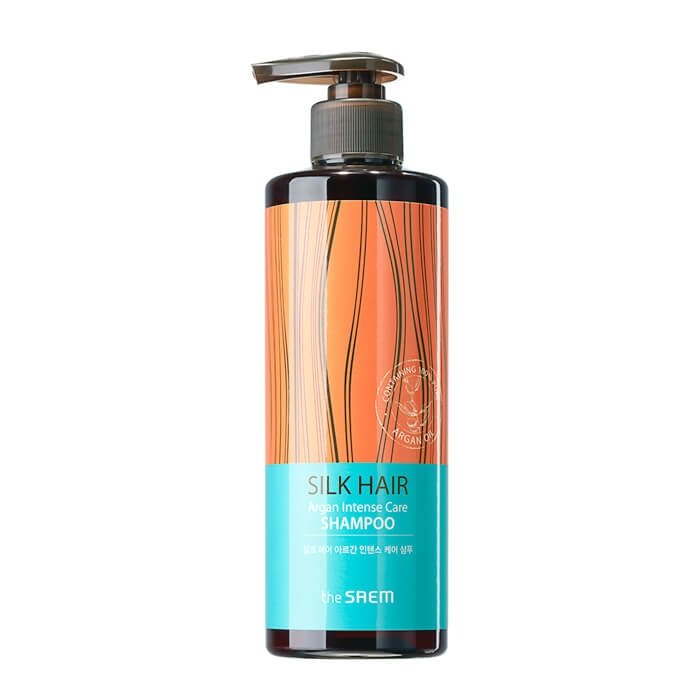 Шампунь для волос The Saem Silk Hair Argan Intense Care Shampoo