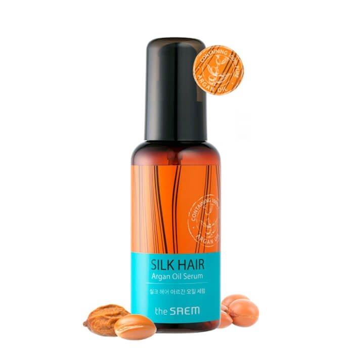 Сыворотка для волос The Saem Silk Hair Argan Oil Serum
