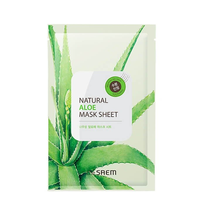 Тканевая маска The Saem Natural Aloe Mask Sheet