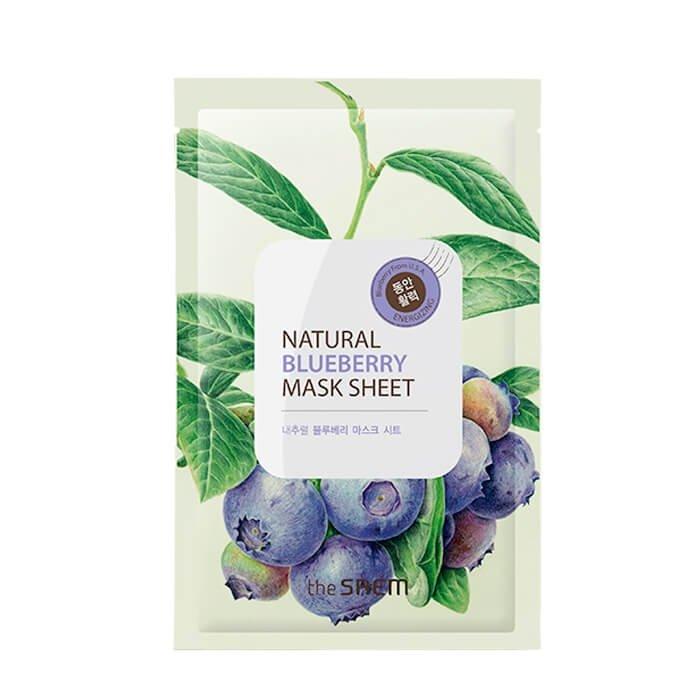 Тканевая маска The Saem Natural Blueberry Mask Sheet