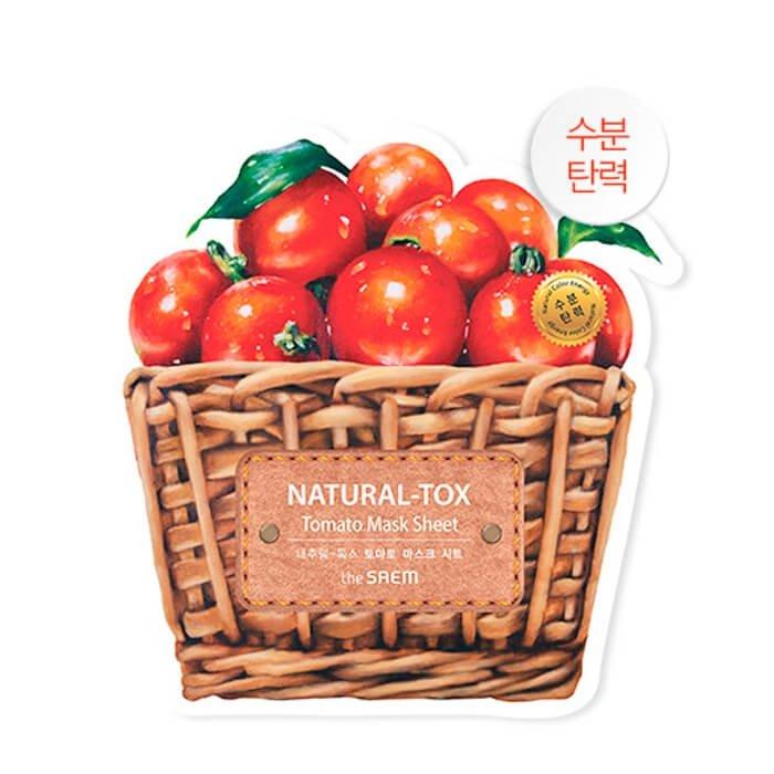 Тканевая маска The Saem Natural-tox Tomato Mask Sheet